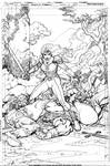 Unpublished Amethyst #1 Cover