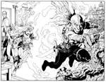 Sword of Sorcery (Amethyst) #7 Gatefold cover