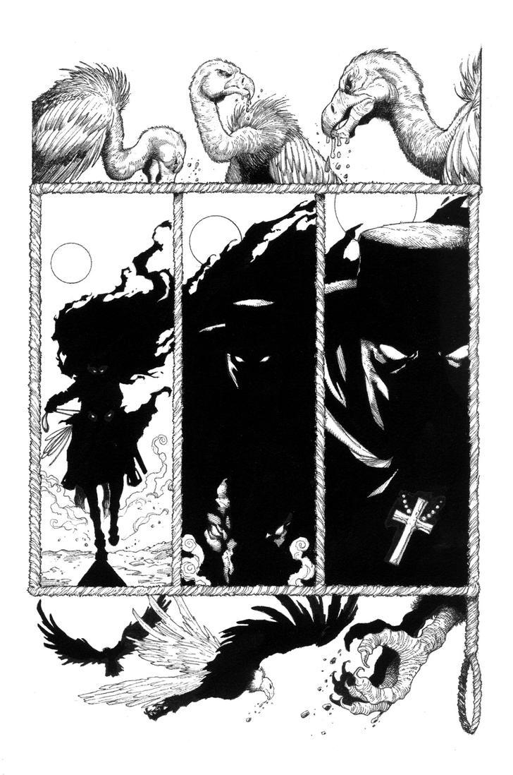 Western Ghost Rider Re-boot page 1 by aaronlopresti