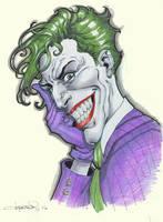 JokerPortrait2016 by aaronlopresti