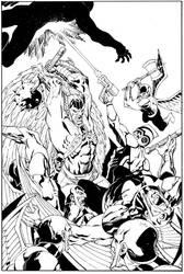 HawkmanAStrange#3cvrfinal by aaronlopresti