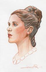 PrincessLeia by aaronlopresti