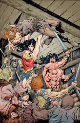 WW:Conan#5Cvr by aaronlopresti
