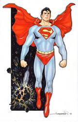 Superman Commission by aaronlopresti