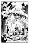 Plastic Man  #1 Cover Inks