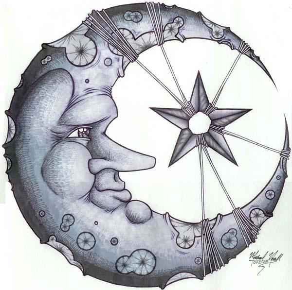 Crescent Moon by mykeart