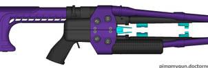 Type-57 Semi-Auto Plasma Rifle by Eruisar