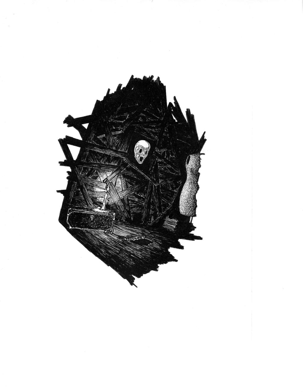 Attic Head by jon71966