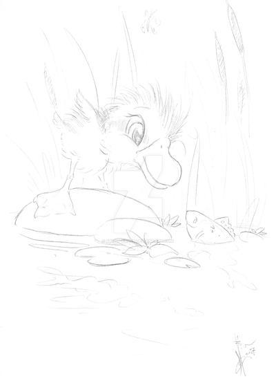Pond Friends Sketch By Frost Crust On Deviantart