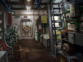submarine_lower deck by yoggurt