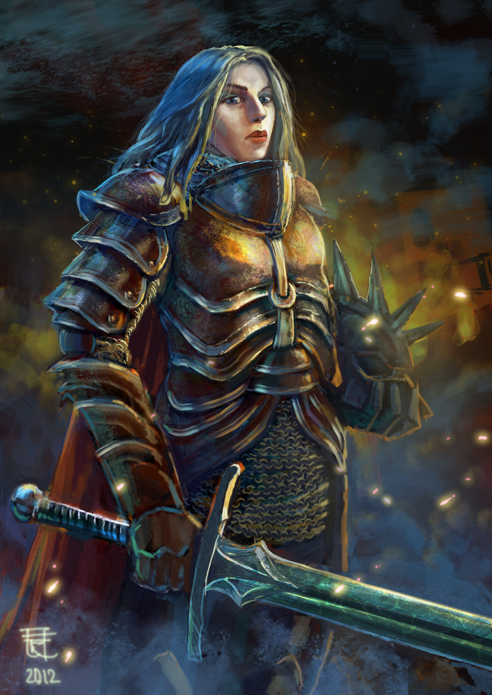 Warrior lady by yoggurt