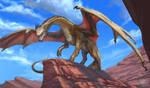 Red-rock-dragon