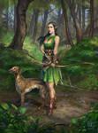 Elven huntress 2