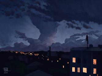 Night Clouds by yoggurt