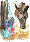 Intruder at hay by Lechtonen
