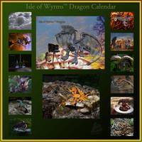Isle of Wyrms Dragon Calendar by skiesofchaos