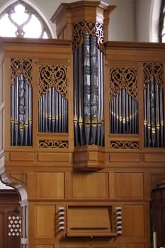 Pipe Organ Console