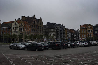 2018-05-14 Main Square in Roeselare Belgium by skiesofchaos