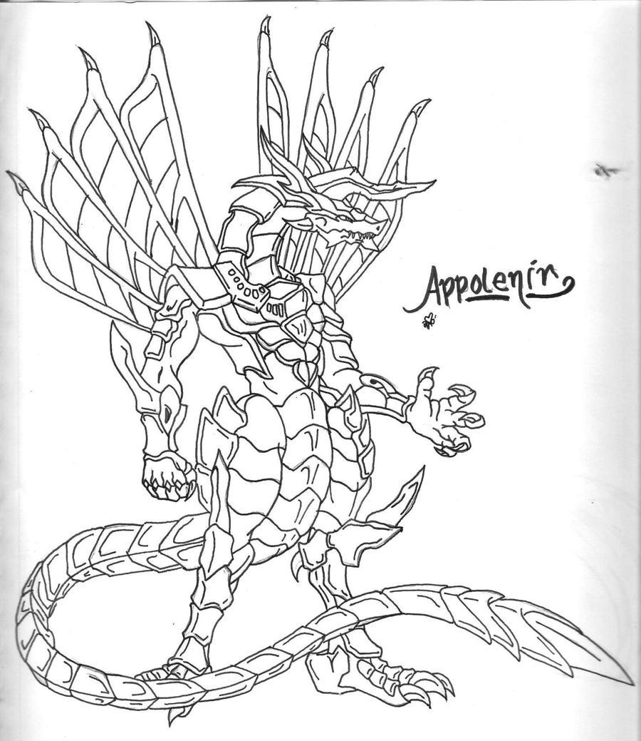 Bakugan anyone by the musedragon on deviantart for Bakugan drago coloring pages