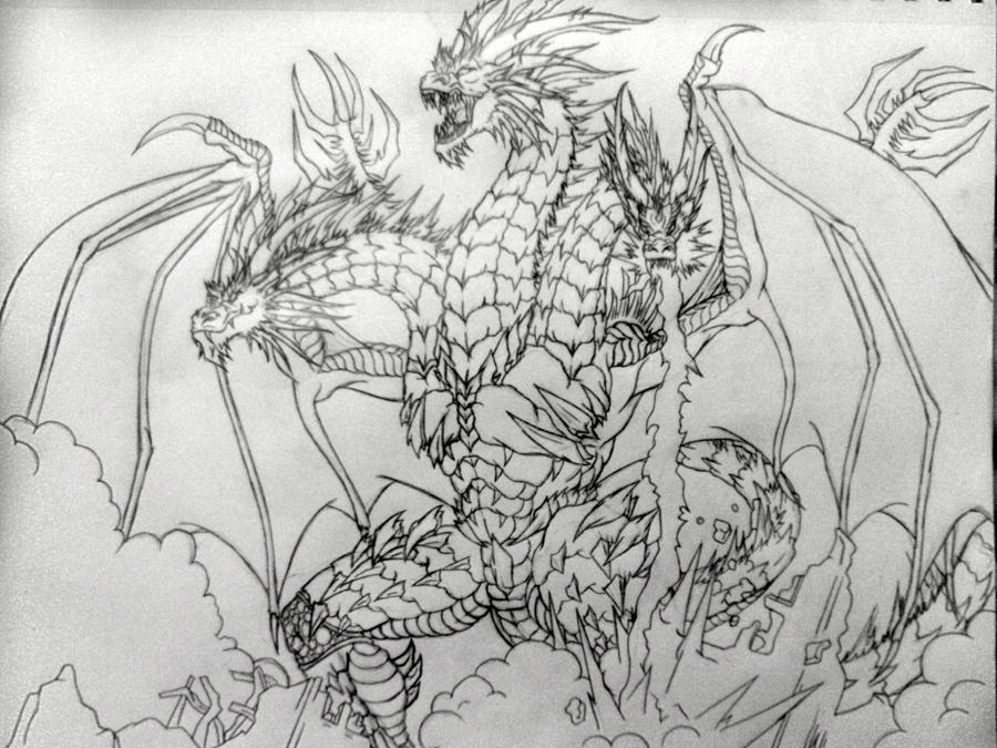 King Ghidorah by The-MuseDragon on deviantART