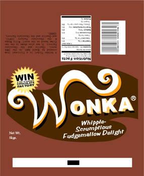 Wonka Wrapper: Fudge