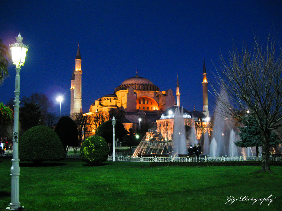 Hagia Sophia by Lady-Gigi