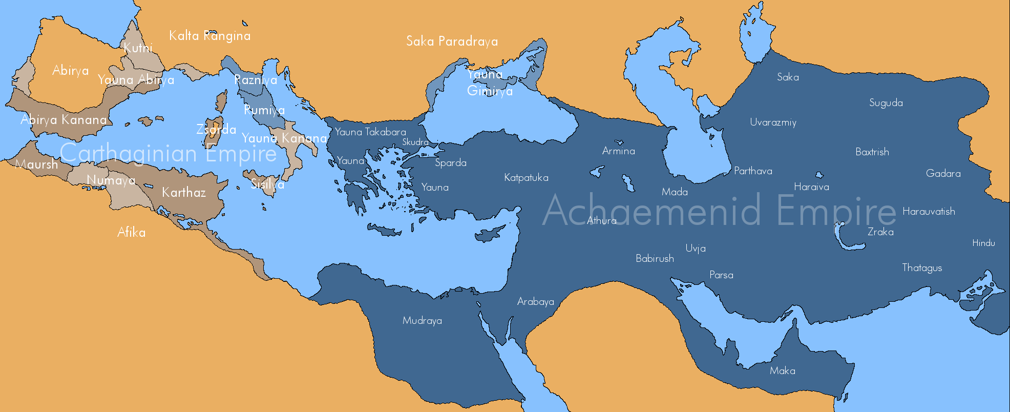 �greatest iranian empires�