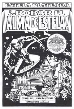Silver Surfer title page 1