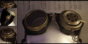 Steampunk Goggles V