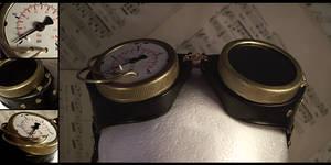 Steampunk Gauge Goggles