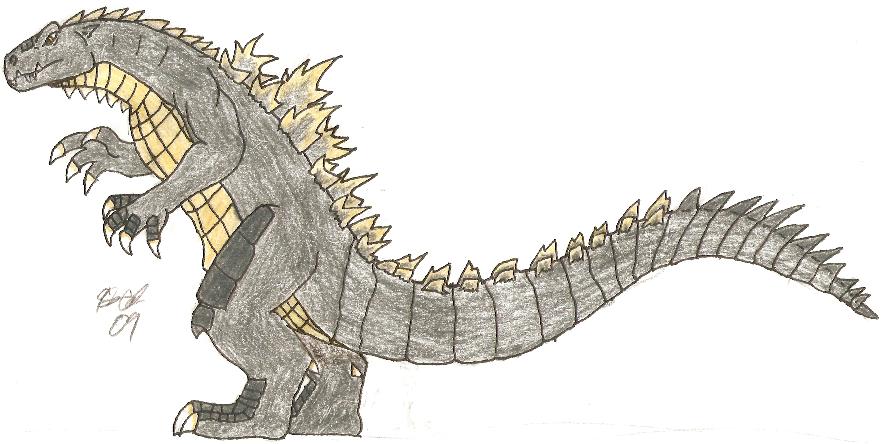 Shin Series: Godzilla by SuperSaiyan4Godzilla