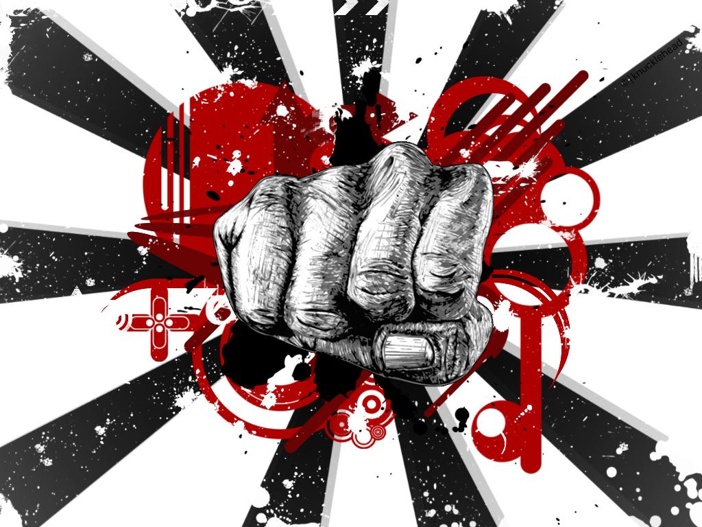 Vector Fist by x-knucklehead-x