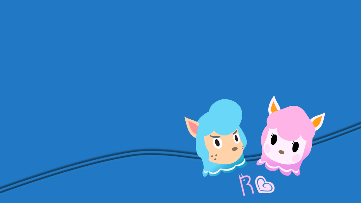 Reese And Cyrus Wallpaper By Schaafii On DeviantArt