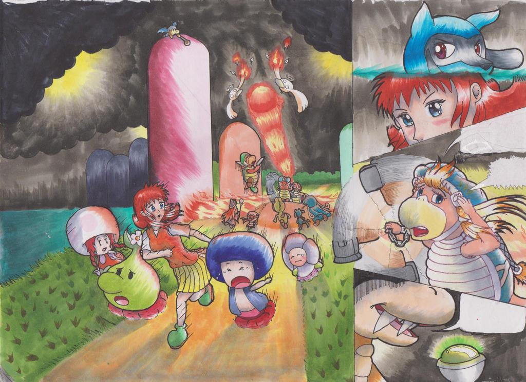 Y-M-P Crossover Part 8: Priorities Final Copy by animefan-no1