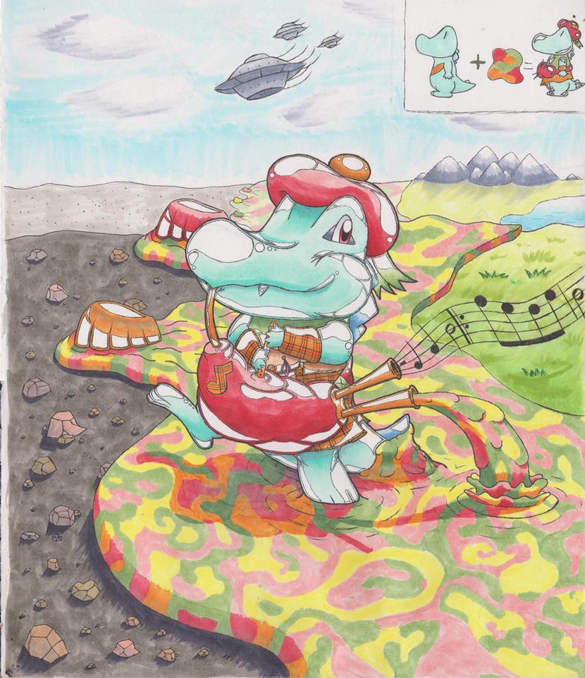 Shinytotodude Rubber/Scottish TF and Wasteland TF by animefan-no1