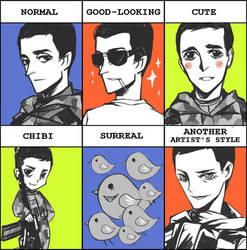 Style Meme RAYRAY by vvvviola