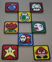 Set of 8 Coasters by 7M7UF