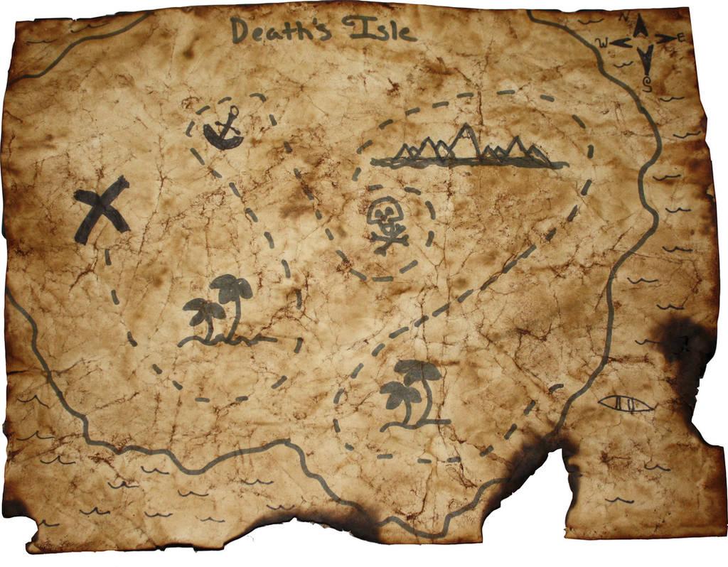 Treasure Map by 7M7UF