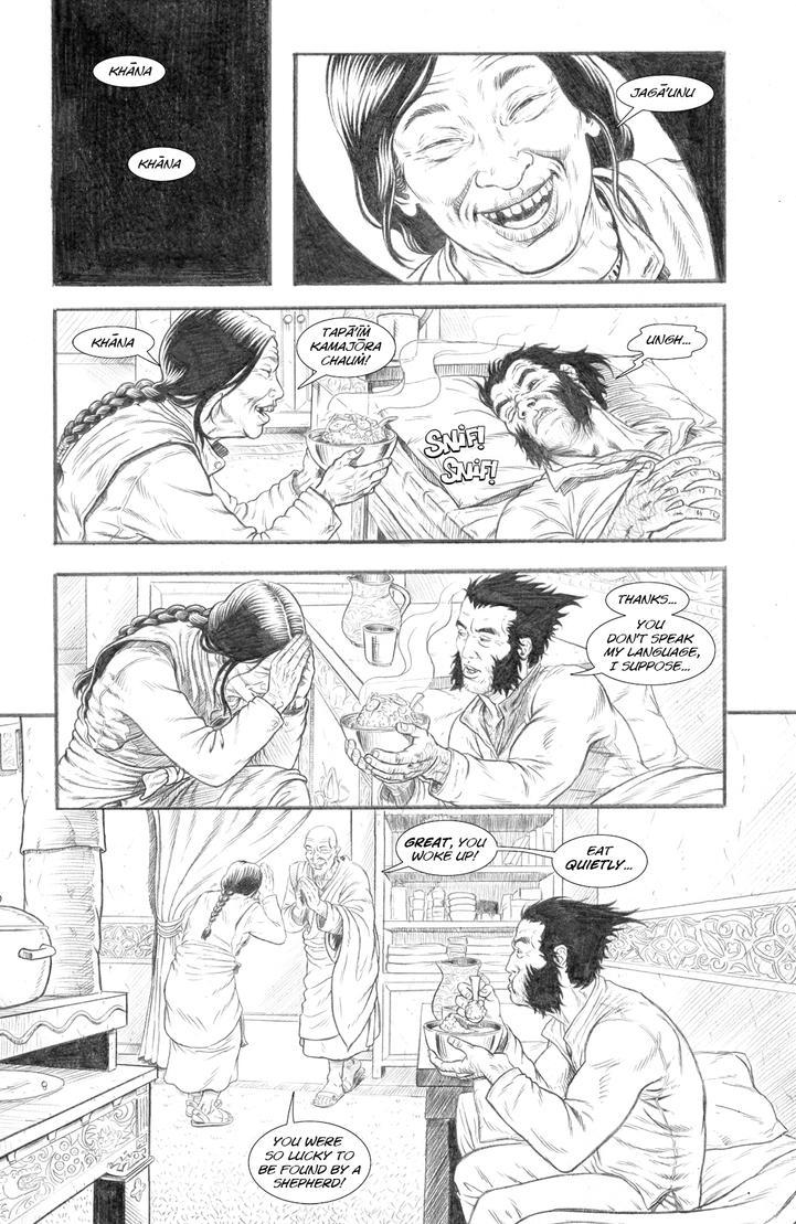 Wolverine's Nightmare page 14 by alexfemenias