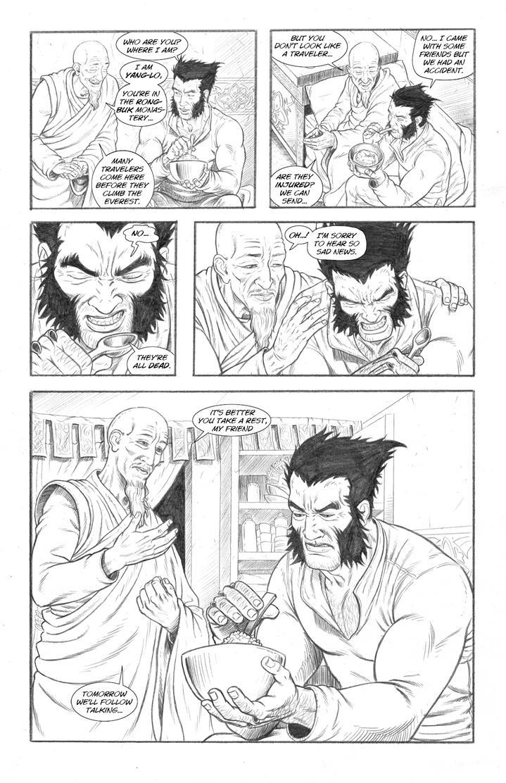 Wolverine's Nightmare page 15 by alexfemenias