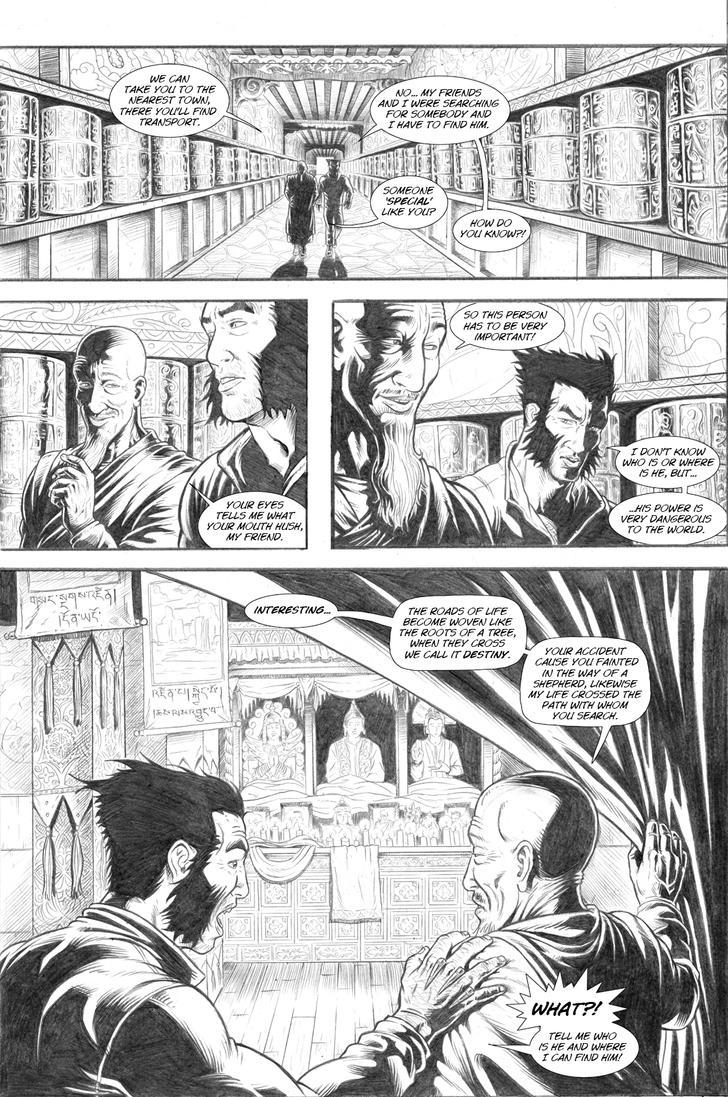 Wolverine's Nightmare page 16 by alexfemenias