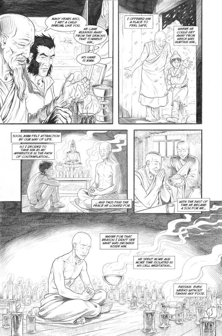 Wolverine's Nightmare page 17 by alexfemenias