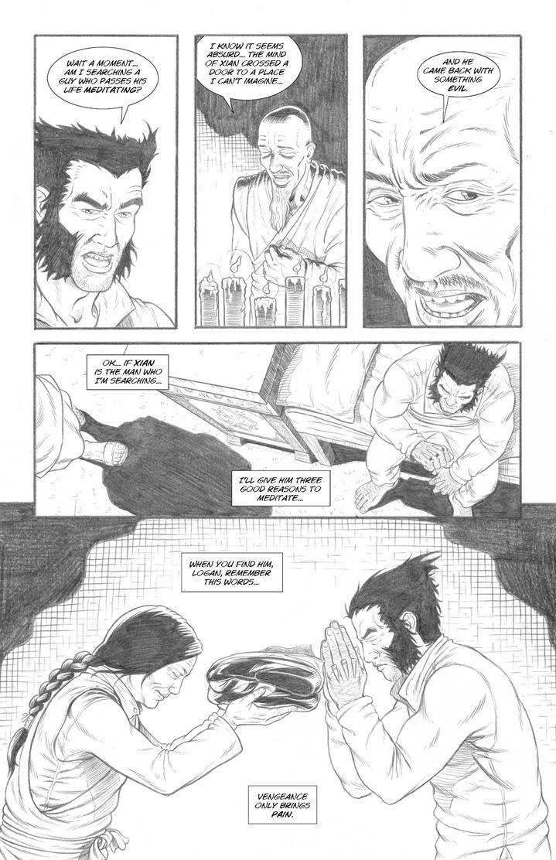 Wolverine's Nightmare page 19 by alexfemenias