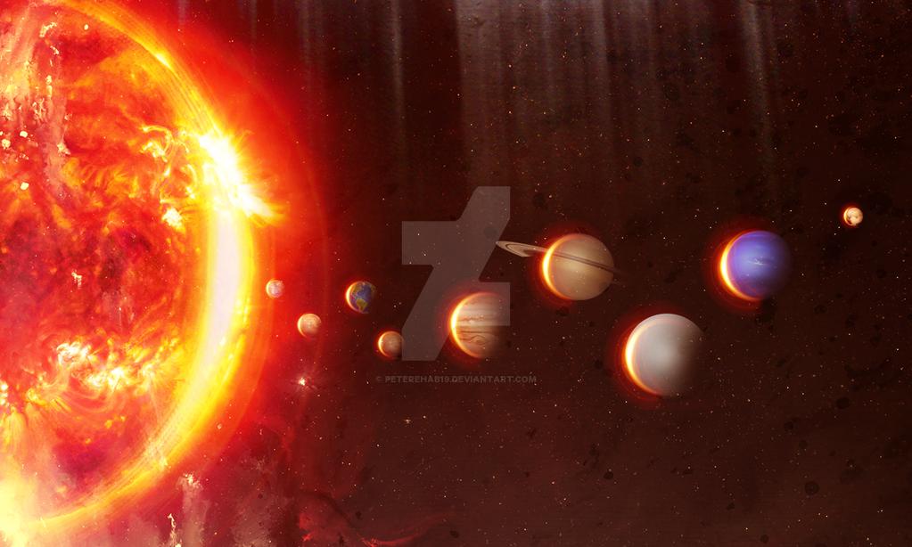 planets around the sun - photo #39