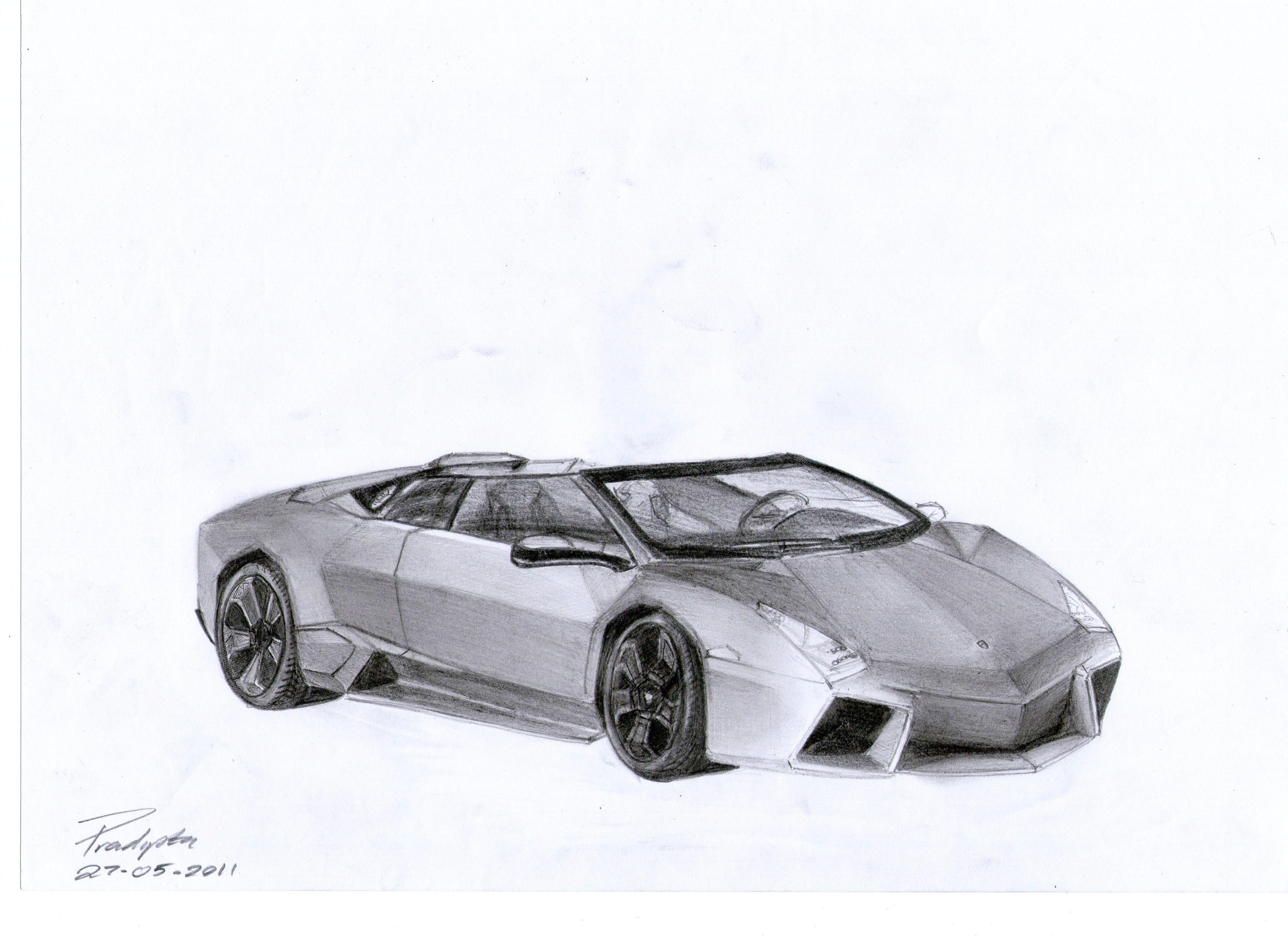 lamborghini reventon drawings - photo #8