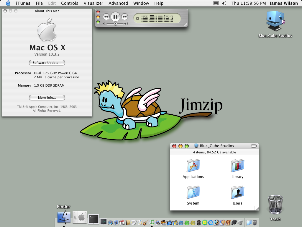 My Desktop Again by jimzip