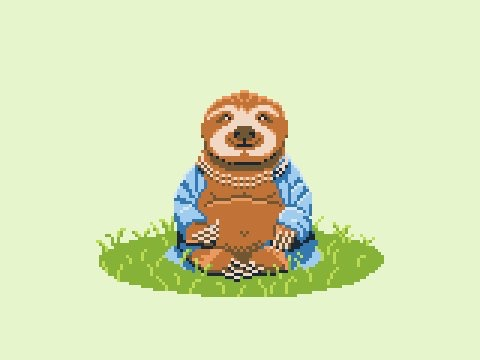 The Sloth Buddha by jimzip