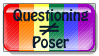 Questioning Stamp by dreaminpng