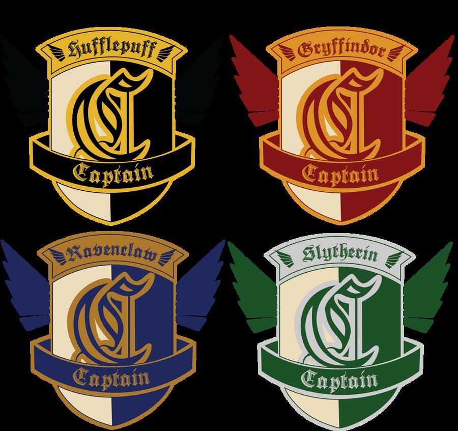 HA: Quidditch Captain Badges by dreaminpng