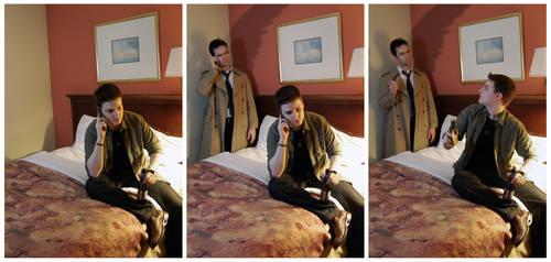 Calling Castiel by dreaminpng